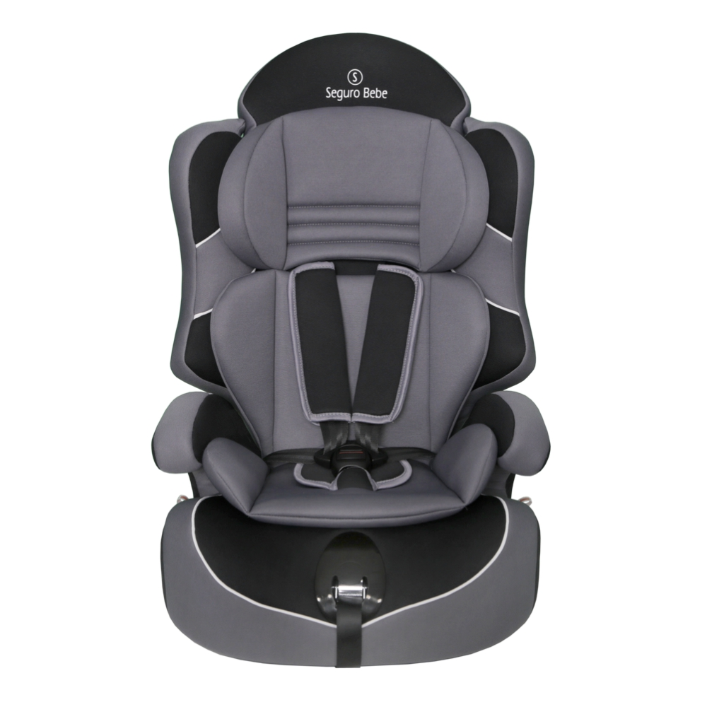 Seguro Bebe Lima Group 1 2 3 Child Car Seat – Grey On Black