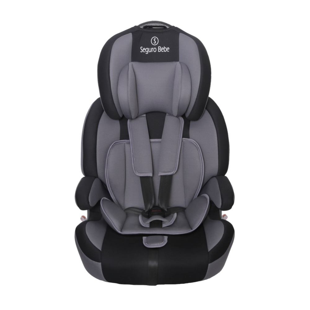 Seguro Bebe Bravo ISOFIX Group 1 2 3 Child Car Seat – Grey On Black