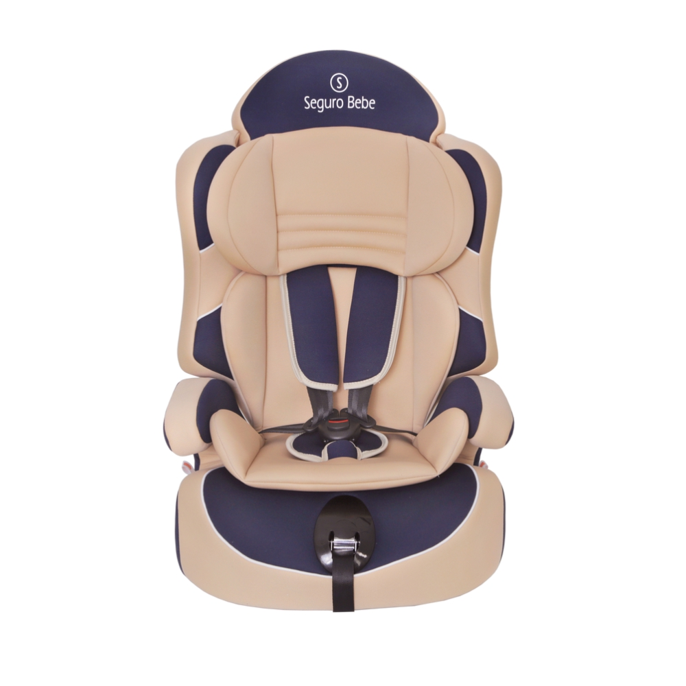Seguro Bebe Lima Group 1 2 3 Child Car Seat – Beige On Navy