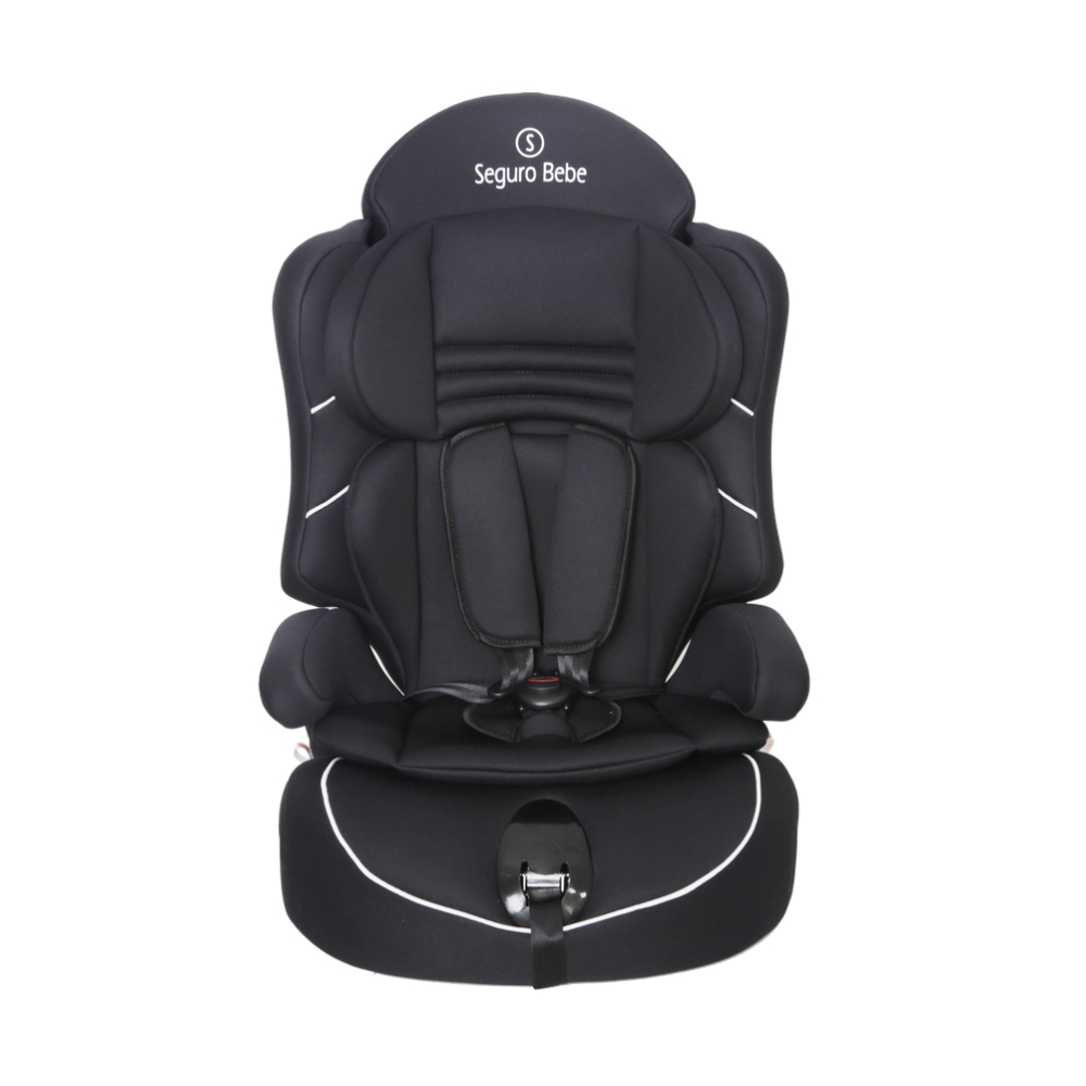 Seguro Bebe Lima Group 1 2 3 Child Car Seat – Pure Black