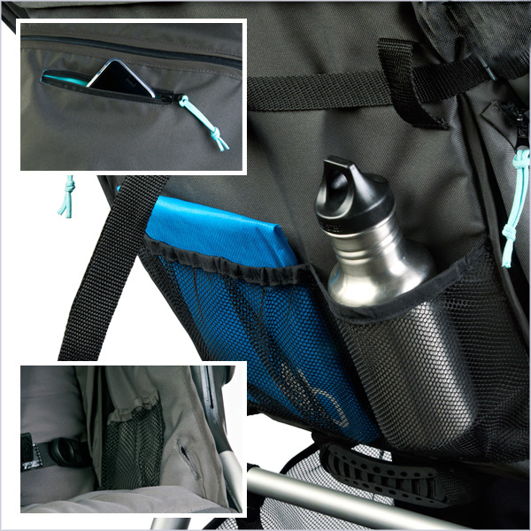 Bumbleride 2018 Speed Easy Stow Pockets