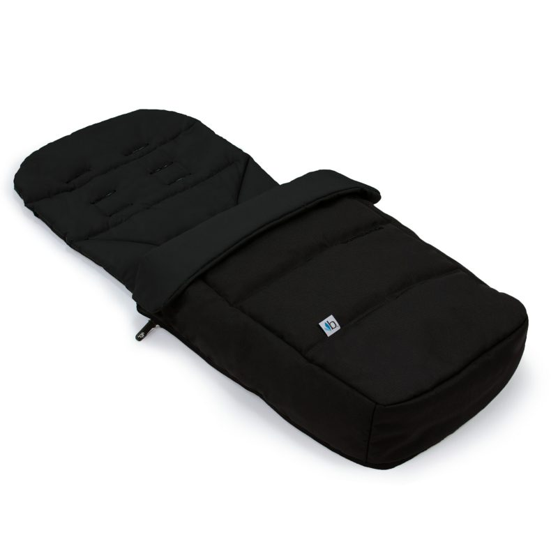 Bumbleride Footmuff & Seat Liner - Matte Black