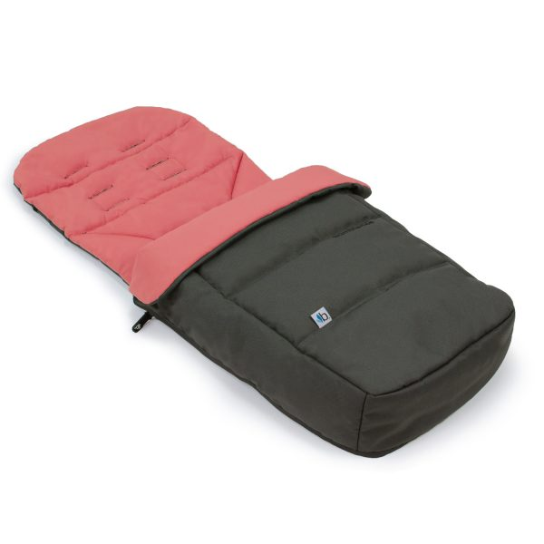 Bumbleride Footmuff and Liner Dawn Grey Coral