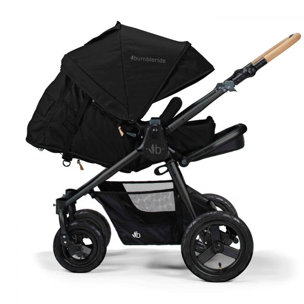 Bumbleride Era Matte Black 2 Infant Mode