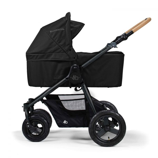 Bumbleride Era Matte Black 6 Bassinet Attached