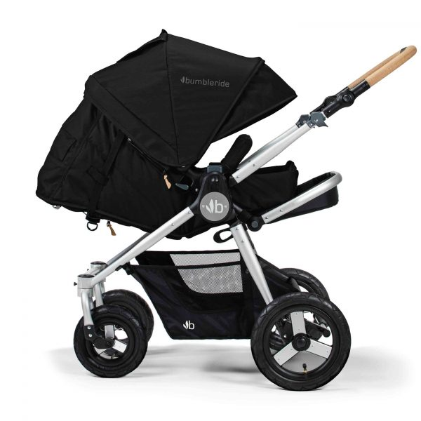 Bumbleride Era Silver Black 2 Infant Mode