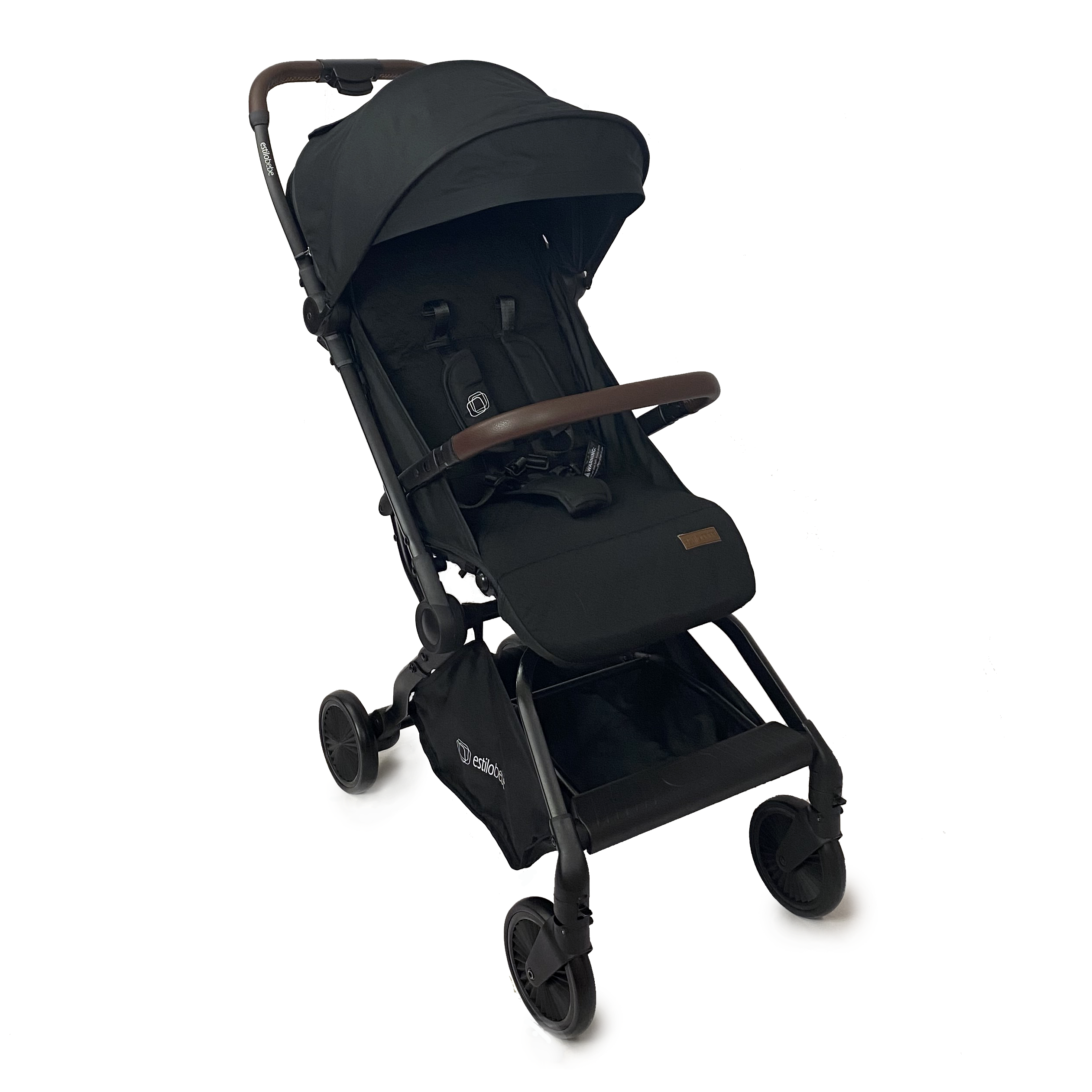 Estilo Bebe Finch Auto-Folding Stroller – Noir